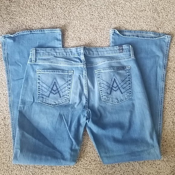 7 For All Mankind Denim - 7 for All Mankind Short Inseam A Pocket Size 30